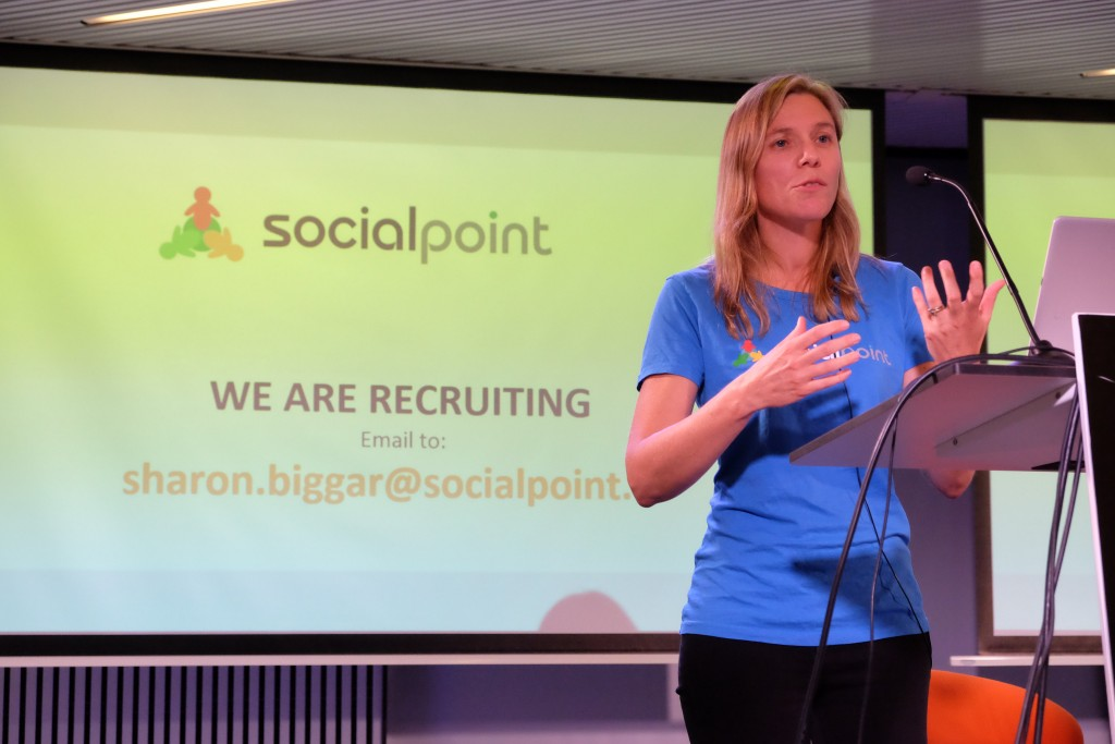Sharon from Social Point