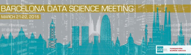 Save your date! Barcelona Data Science Meeting